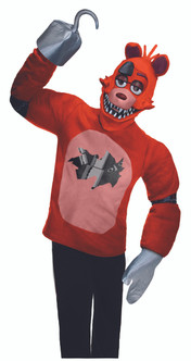 Foxy Five Nights at Freddy's Mens Costume