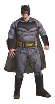 Deluxe Plus Muscle Batman Mens Costume