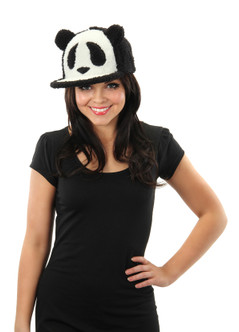Panda Snapback Baseball Hat