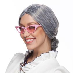 Old Lady Grey Wig