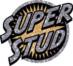 Super Stud Heat Transfer Patch