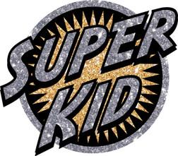 Super Kid Heat Transer Patch