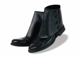Deluxe Black Gangster Spats