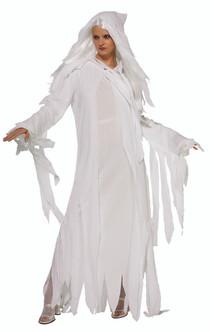 Ladies Ghostly Spirit Halloween Costume