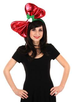 Giant Christmas Bow Headband
