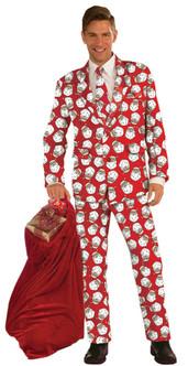 Adult Santa Claus Suit Costume