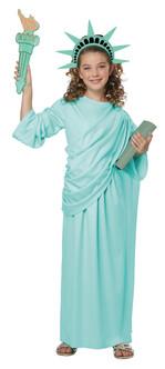 Kids Statue of Liberty Costume