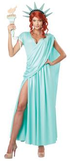 Ladies Lady Liberty Costume