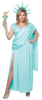 Lady Liberty Costume - Plus Size