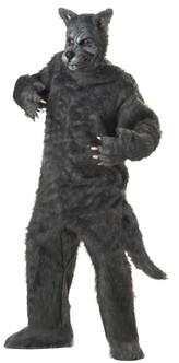 Adult Big Bad Wolf Mascot Costume