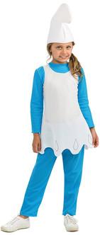 Kids SmurfetteThe Smurfs: Lost Village Costume