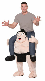 Funny Inflatable Sumo Rider Costume