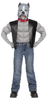 Kids Pit Bull Biker Costume