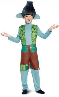 Children's Deluxe Branch Trolls Costume with Wig