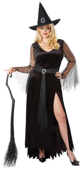 Rich Witch Costume - Plus Size