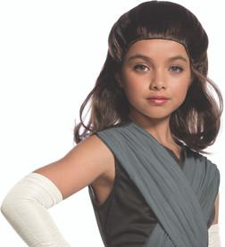 Star Wars Episode 8 Child Rey Wig