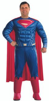 Mens Plus Superman Justice League Costume