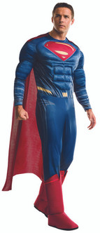 Mens Deluxe Justice League Superman Costume