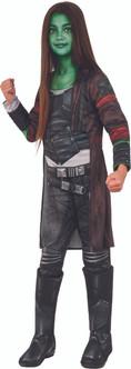 GOTG2 Gamora Deluxe Kids Costume