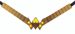 Kids Wonder Woman Justice League Light Up Belt