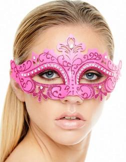 Pink Masquerade Mask