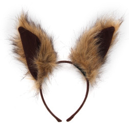Deluxe Squirrel Ear Headband