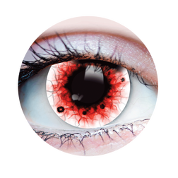 Wraith Red Vein Coloured Contact Lenses