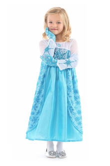 Ice Princess Blue Gown Costume