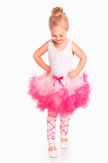 Bright Pink Children's Princess Tutu