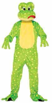Freddy the Frog Mascot Costume