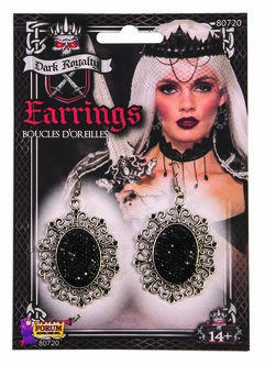 Dark Elegance Royalty Earrings