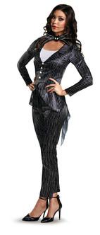 Ladies Nightmare Before Christmas Jack Skellington Costume