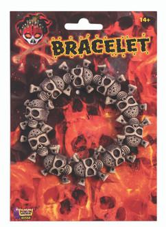 Skull and Crossbones Bracelet Pirate Accessory
