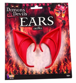 Demons and Devils Clip on Devil Ears Accessory