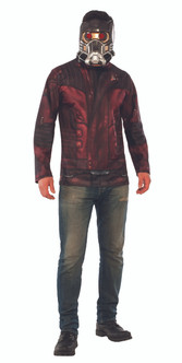 Star-Lord Costume Top With Mask