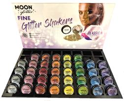 Moon Glow Fine Glitter Shaker - 8 Colours!
