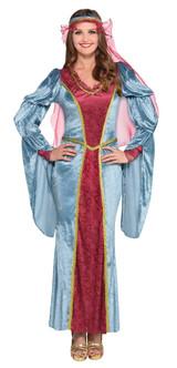Ladies Renaissance Queen Medevial Costume