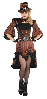 Ladies Dream Steamy Steampunk Costume