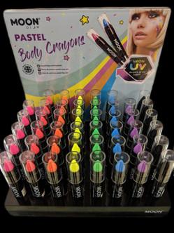 Moonglow Pastel Face/Body Crayon Makeup