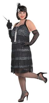 Lace Flapper Costume - Plus Size