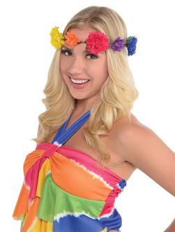 Flower Headband Hippie Grapevine Wreath