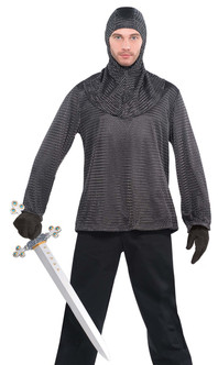 Medieval Chain Mail Tunic Set