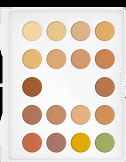 Kryolan Professional Dermacolor 18 Palette Dark 3/18