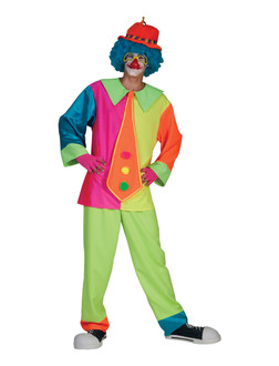 Mens Silly Billy Clown Costume