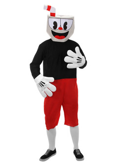 Cuphead: Don't Deal With The Devil - Adult Cuphead Costume