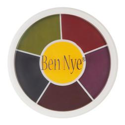 Ben Nye Master Bruise Makeup Wheel