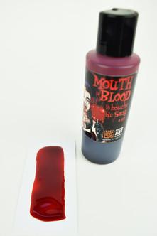 Bleeding Art Industries Mouth Blood 8oz Makeup