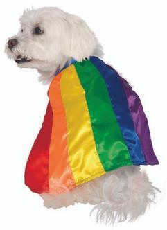 Rainbow Pride Pet Cape