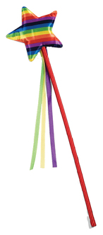 Rainbow Pride Star Wand