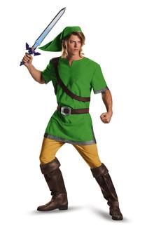 Mens The Legend Of Zelda Link Standard Costume